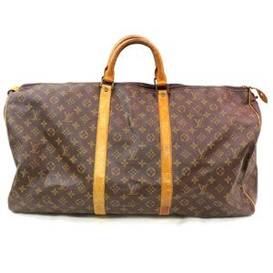 Auth Louis Vuitton Keepall 60 Travel Bag #3355L19